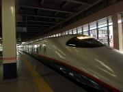 東北新幹線で北上まで